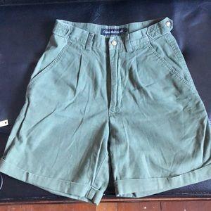 Vintage Calvin Klein high-waisted shorts